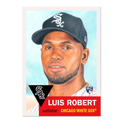 2020 Topps Living Set Baseball Luis Robert Rc #297