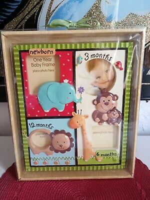 Fisher Price zoo Animals Baby picture frame.