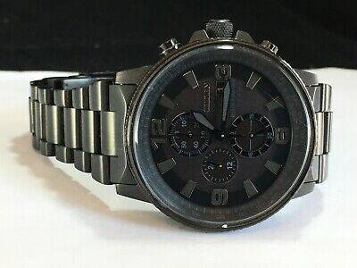 Citizen Eco-Drive Men's Nighthawk STEALTH Chronograph Watch CA0295-58E MSRP:$525