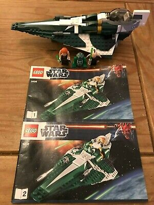 Lego Star Wars 9498 (2012) Saesee Tiin's Jedi Starfighter With Instructions No B