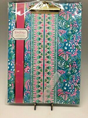 Lilly Pulitzer Clipboard Folio in Totally Blossom