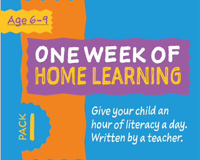 One Week Of Literacy Work For Home Learning (6-9 years) Pack 1
