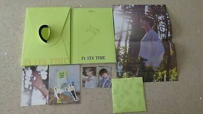 Official Oneus In Its Time 1st Single Album - Ravn Photocards - UK Seller