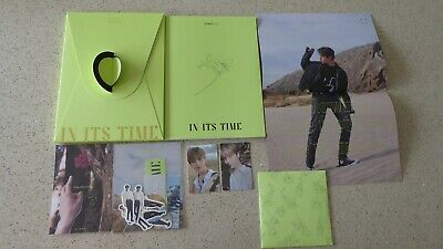 Official Oneus In Its Time 1st Single Album - Xion Photocards - UK Seller