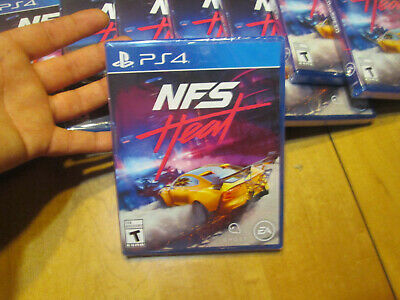 Need for Speed: Heat  PS4 US EDITION AUTHENTIC NEW FACTORY SEALED