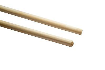 Cowa Wood Handle with or without Thread 140cm Broomstick Broom Rubber