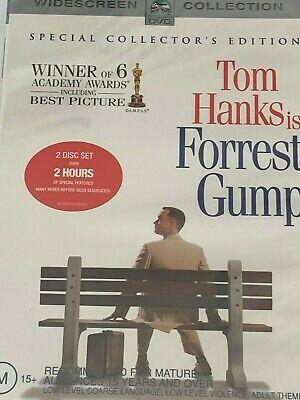 Forrest Gump Special Collectors Edition Tom Hanks 2-Disc DVD Brand New