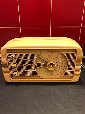 1956 Vintage Astor Special Five Radio Mickey