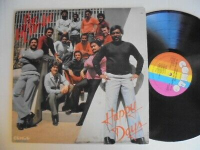 EL GRAN COMBO Happy Days COMBO Latin Salsa Guaguanco LP HEAR