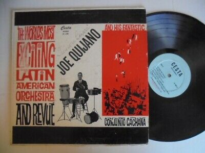 JOE QUIJANO  CESTA Latin Guaguanco + Descarga KILLER! LP HEAR