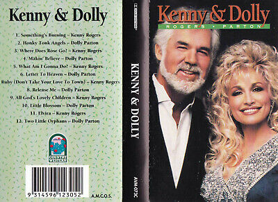 KENNY ROGERS & DOLLY PARTON Kenny & Dolly  - Cassette - Tape   SirH70