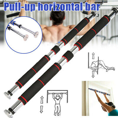 Door Home Exercise Workout Training Gym Bar Chin Up Adjustable Fitness Pull Men