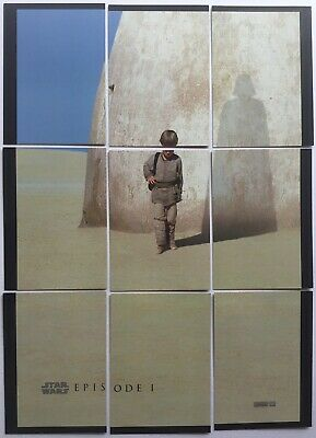 STAR WARS - EPISODE 1 - 9 Trading Cards, Form Movie Poster