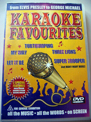 Karaoke DVD Disc Fast Love Let it be Congratulations My Way and many more