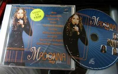 Madonna Video CD Disc Karaoke American Pie + more with on screen lyrics VCD