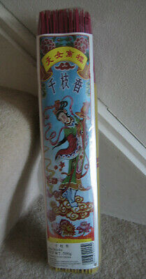 2 Packs of Joss Sticks Chinese for Feng Shui Line, Temple Worship Joss Candles