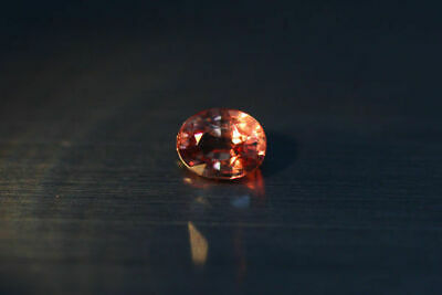0.905 Ct Rare Natural From Earth Mined *Color Change Malaya Garnet* Aaa+ Gem~!!!