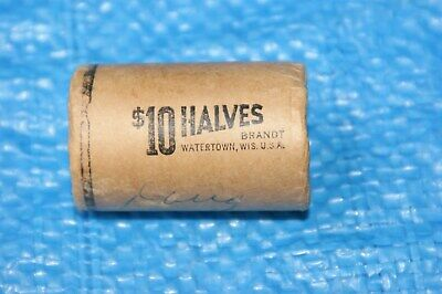 1964 50CENT KENNEDY SILVER USA HALF DOLLAR  BANK WRAPPED ROLL of 20,QLD 4074