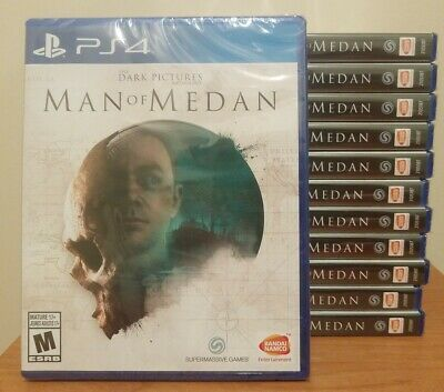 The Dark Pictures Anthology Man of Medan - PlayStation 4, PS4 - Brand New Sealed