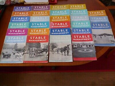 27 STABLE MANAGEMENT 1960s/1970s HORSE PONY FARM STUD SCHOOLS *AS PICTURES*