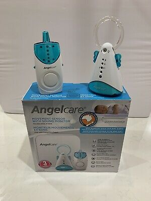 Angelcare Movement Sensor With Sound Monitor - AC601-2SP