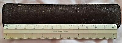 Vintage Australian W & G / P20 Rule in Leather Case Accurately Engraved