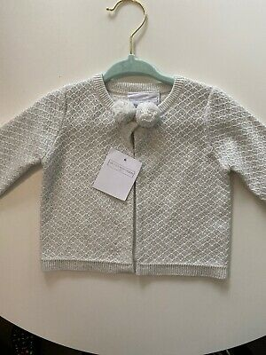 The Little White Company Cardigan Jumper Top 0-3 Months ⭐️ Brand New ⭐️