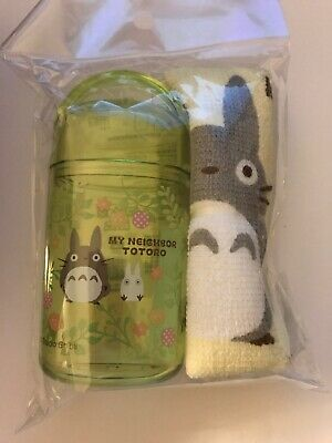 NEW My Neighbor Totoro Studio Ghibli Towel with case SKATER OA5 (US Seller)