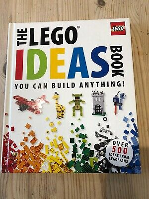The Lego Ideas Book by Daniel Lipkowitz Hardback You Can Build Anything! 2011