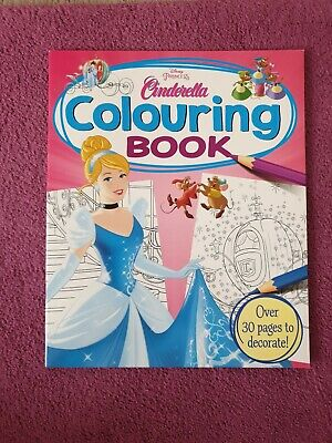 Cinderella Coloring Book  BORED KIDS CHILDREN HOME OFF SCHOOL SELF ISOLATE