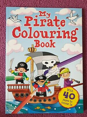 My Pirate Colouring Book  BORED KIDS CHILDREN HOME OFF SCHOOL SELF ISOLATE