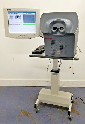 EyeTel Model DSe-06 DigiScope Fundus Camera w/ Touch Monitor & Adjustable Table