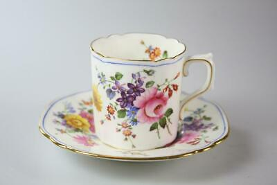 Royal Crown Derby Cup & Saucer Coffee Set Rn 758225