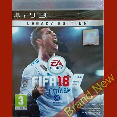 FIFA 18 - PlayStation 3 PS3 ~PEGI 3+ Import - Game in English Brand New & Sealed