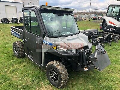 2015 Polaris Brutus Hd Pto Utv W/ Mower, Cab, Heat/Ac, 4X4, 24 Hp, 258 Hrs