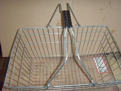 6x Wire Shopping Baskets Retai,l Supermarket Use Hand Carry,