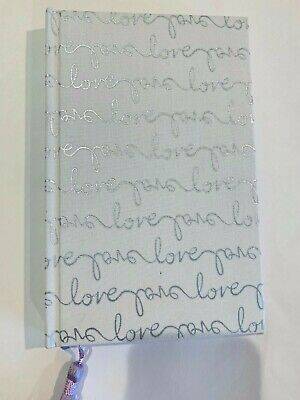Kate Spade New York Love Bride Journal Wedding Planner  200 Pages, silver, white
