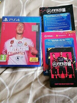 FIFA 20 with codes for extras! (Sony PlayStation 4 PS4)