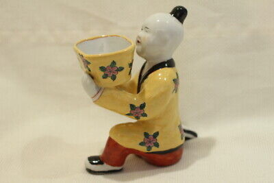 Laughing Boy Antique 19th C. Chinese Porcelain Figure