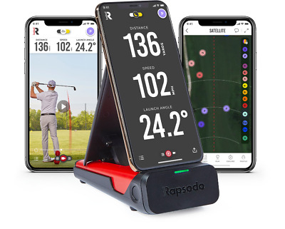 FLASH SALE NEW Rapsodo Mobile Launch Monitor - Best Golf Outdoor Practice Tool
