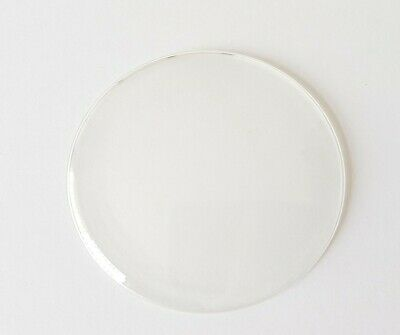 Round Convex  Clock Glass Acrylic (Plastic) Diameter 60.0 mm