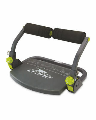 Crane 6-in-1 Multi Trainer For Abs And Sit Ups Foldable With DVD