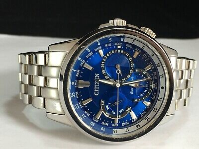 Citizen Eco-Drive Men's Calendrier Stainless Steel Watch - BU2021-51L MSRP: $495