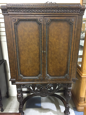Vintage Wooden Armoire/Cabinet
