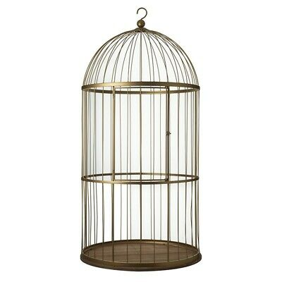 Large Bird Cage In Gold antique style posh