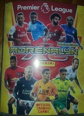 130 Premier League Adrenalyn/panini official 2019/2020 trading football cards