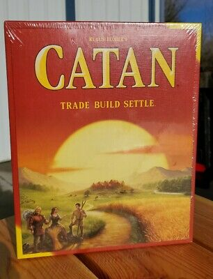 Settelers of Catan Standard Board Game CN3071 New In Box