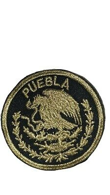 Durango Mexico Eagle Shield  Embroidered Patch