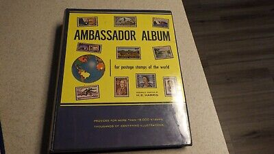 Ambassador Album for postage stamps of the World 1966 edition with stamps