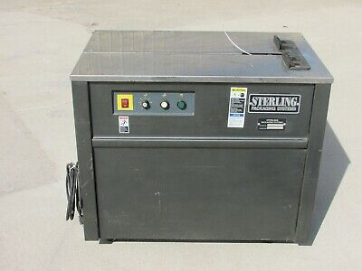 Sterling Packaging Systems Es101 Poly Strapping Machine